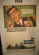 The Incredible Mr. Limpet Original 1sh Movie Poster 1964 Don Knotts cartoon fish