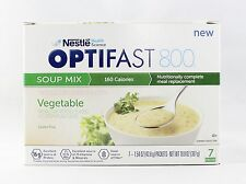 NEW FORMULA | OPTIFAST® 800 MEAL REPLACEMENT SOUP |  VEGETABLE SOUP | 6 BOXES