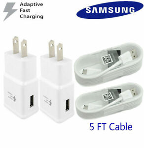 Adaptive Rapid Fast Wall Charger For New Samsung Galaxy S7 S6 J7 J2 Edge Note 4