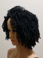 Outre Lace front wig synthetic #1 Black natural coiled curls 4C