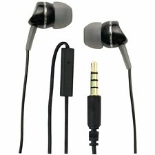 WICKED WI-1950 Metallics Headphones with Microphone (Black)