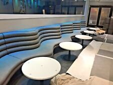 Sample, Booth Seating, Bench Seating, Restaurant seating. Fixed Seating Banquet