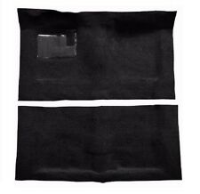 ACC 68-72 El Camino Automatic BLACK Loop Molded Carpet Set 2 Piece W/ Padding