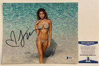 Hot Sexy Model Kara Del Toro Autographed 8x10 Photo Hand Signed With Beckett COA
