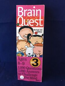 Brain Quest Grade 3 1000 Questions And Answers By Chris Welles Feder