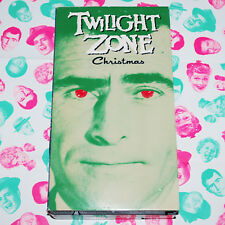 Twilight Zone Christmas VHS Night Of The Meek '60 Art Carney Rod Serling TV Card