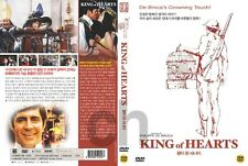 KING OF HEARTS, Le Roi De Coeur (1966) - Alan Bates  DVD NEW