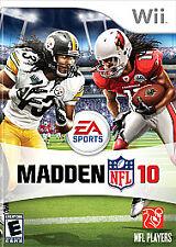 Madden Nfl 10 (Nintendo Wii, 2009)