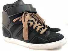 Adidas Originals Shoes Women's Size 8.5 Black Gold Glitter Sneakers