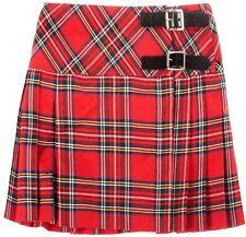 Girls Pure Wool Billie Kilt Skirt in Stewart Royal