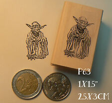 P63 Star wars Yoda rubber stamp