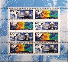 Russia rusia 2009 klb 1548-49 hydrometeorologischer servicio Estación meteorológica mnh