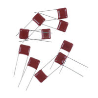 10pcs CBB 104J 630V 100NF 0.1UF P10mm Metallized Film Capacitor BHCA