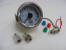 Druckanzeige analog Airride, Luftfahrwerk, Druckmanometer, Manometer, 2 Zeiger