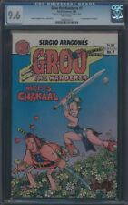 GROO THE WANDERER (1982) #7 CGC 9.6 NM+ WP REMARK AND SIGNATURE ON 1ST PAGE