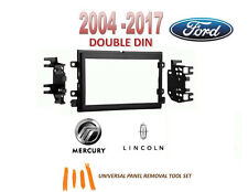 2004-2015 FORD LINCOLN MERCURY 2 DIN CAR STEREO INSTALL DASH KIT, Tool Set