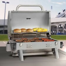 Camping BBQ Picnic Portable Grill Table Outdoor Barbecue Propane Gas Garden Cook