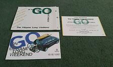 1997 RENAULT MEGANE LONG WEEKEND UK MAILER / MAIL OUT BROCHURE Scenic Coupe