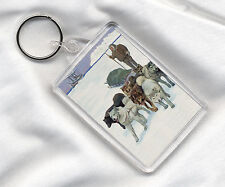 Key Rings Siberian Husky Collectables