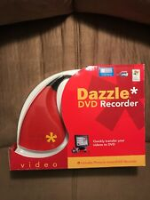 Dazzle DVD Recorder VHS to DVD Converter Transfer Video to DVD XP VISTA