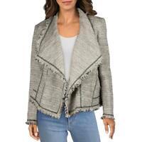 Lafayette 148 New York Womens Ivory Linen Cardigan Top Jacket M BHFO 2043