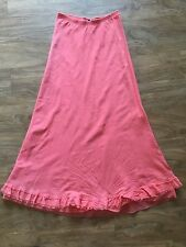 NWOT Hard Tail Coral Maxi Skirt Sz. Small