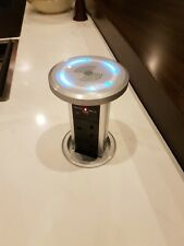 I240pop Motorised Pop up Socket 3 Socket 2 X 2.1a USB Kitchen