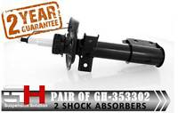 2 FRONT SHOCK ABSORBERS MERCEDES GLK-CLASS (204, X204) 2008->/GH-353302K