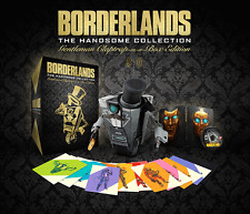 BORDERLANDS THE HANDSOME COLLECTION GENTLEMAN CLAPTRAP IN A BOX - SONY PS4 NEW!