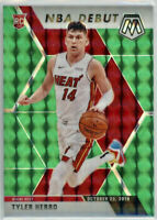 2019-20 Panini Prizm Mosaic Tyler Herro Rookie Card RC Green Debut Miami Heat 🔥