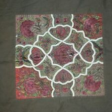 Chinese Miao People's old hand flower Embroidery