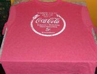 New Coca Cola T-Shirts 50/50 T-shirts - Free USA Shipping!