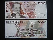 Ecuador 10000 sucres 12.7.1999 serie AP (p127e) UNC