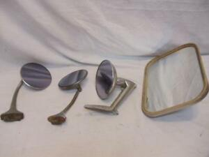 Vintage Exterior Peep Side Mirror LOT Rat Rod Hot Truck Car Desoto GM Ford Chevy