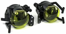YELLOW FOG LIGHTS FOR BMW E63 E64 X3 E46 E60 E61 M SPORT BUMPER NICE GIFT 646046