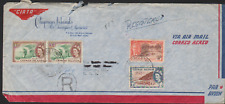 Cayman Islands Registered Airmail Cover