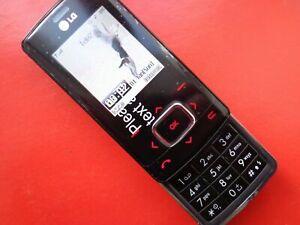 LG Chocolate TG800 (KG800) - BLACK (Unlocked) SLIDER GSM