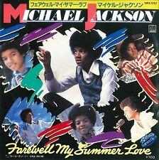 "Michael Jackson Farewell my summer love (7"" Promo Japon Label Blanc - 1984)"