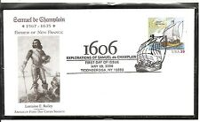 US SC # 4073 Samuel De Champlain FDC. American First cover Society Cachet