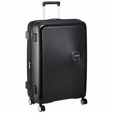 American Tourister Luggage 79l Soundbox 8 Wheel Spinner Expandable 77cm Black