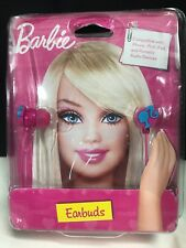 Barbie Silhouette Earbuds Pink NEW