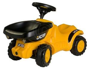 Rolly Toys - JCB MiniTrac Ride-on DUMPER TRUCK Tipping Action Age 1/2 - 4