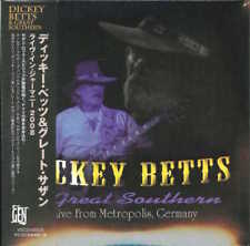 DICKEY BETTS AND GREAT SOUTHERN-LIVE FROM METROPOLIS...-JAPAN 2 MINI LP CD H40