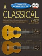 COMPLETE LEARN TO PLAY Classical Guitar Manual+CD*