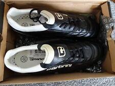 carbrini pro sg football boots black white size 11 metal studs