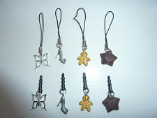 Mobile Phone Charm - Butterfly / Shoe / Gingerbread Man / Chocolate Magic Star