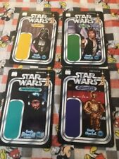 (4) Star Wars backer cards mint condition never used, Gentle Giant, SDCC