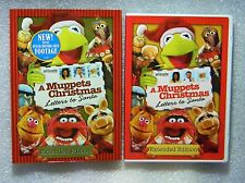 BRAND NEW A Muppets Christmas Letters to Santa WS DVD Uma Thurman & Miss Piggie