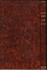 Cowboy presenta: RAYO KIT (sub-colección completa encuadernada) URSUS, 1982.