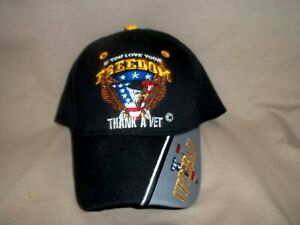 Veteran's Ball Cap.  Very Colorful and Lightweight.